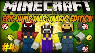 Minecraft: Delti, Blow, zmieńcie te skiny... - Epic Jump Map: Mario Edition #4