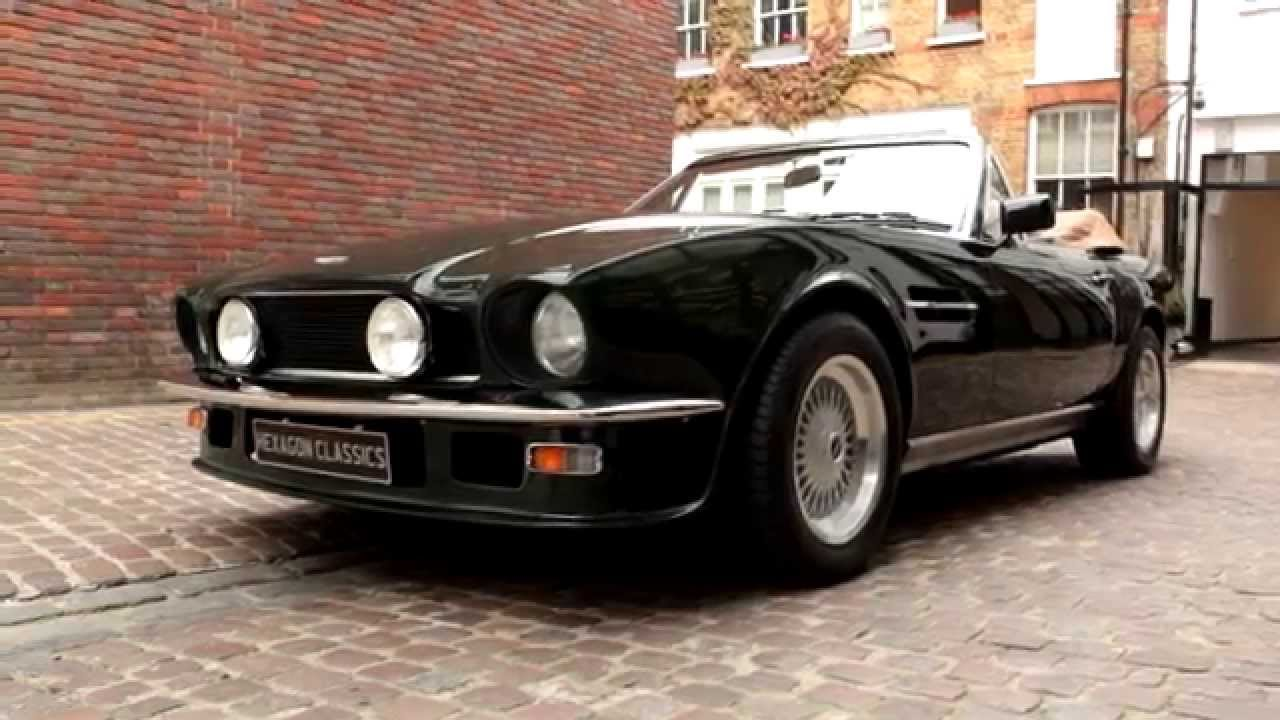 1988 Aston Martin V8 Volante Automatic Hexagon Classics Youtube