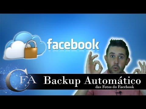 Backup Cópia de segurança das Fotos do Facebook Inc