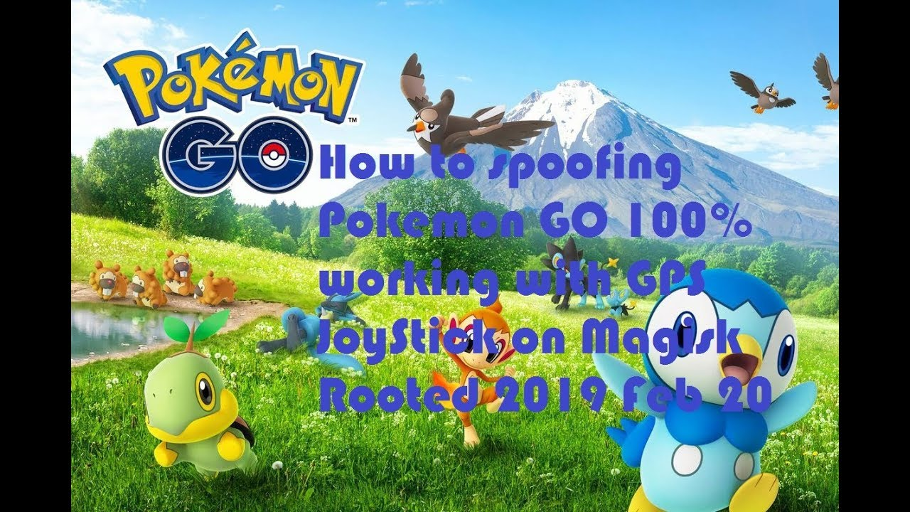 How to spoofing Pokemon GO 100% Working with GPS JoyStick on Magisk Rooted  2019 February 20