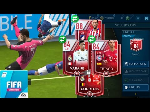 Best lucky packs & New cool celebrations on FIFA Mobile 19 Beta | Best new celebrations!!