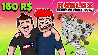 🌪 NATURE'S ELEMENTS ARE NOT TERRIBLE TO US! L Roblox Natural Disaster Survival/w Gilathiss 🌪