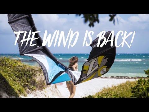 Kiteboarding: Windy Days In Antigua! Vlog 20
