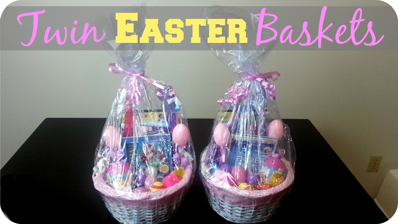 3 year old twins easter baskets youtube negle Images