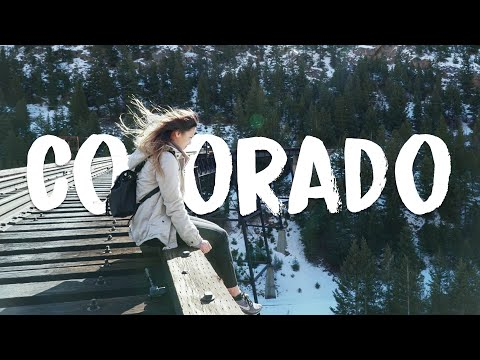 Colorado Trip l Sony a6500 l ODESZA - Higher Ground Music Video