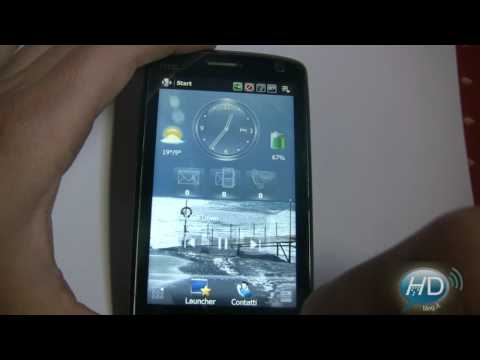 Spb Mobile Shell 3.0 - take a look on HTC TOUCH HD