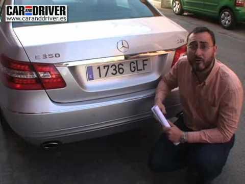Mercedes E350 CGI: Cinco estrellas en confort