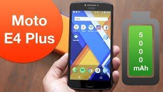 Motorola Moto E4 Plus: здоровячок с огромным аккумулятором