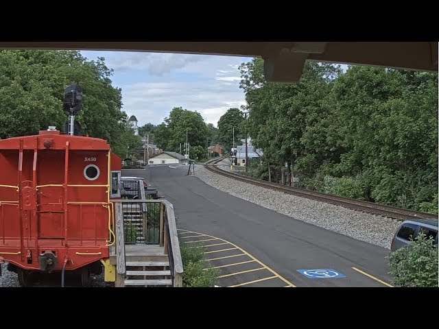 Jonesborough, Tennessee USA - Virtual Railfan LIVE