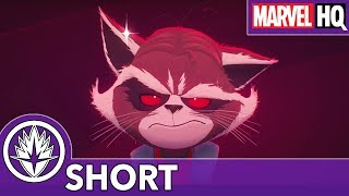 Rocket FINALLY Takes A Bath!   Marvel's Rocket & Groot   Episode 3