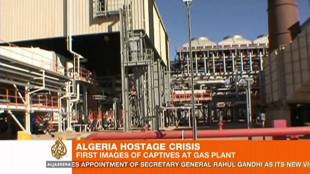 First images of captives in Algeria hostage crisis - YouTube