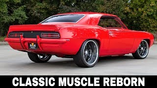 Top 10 Classic Muscle Cars Restored and Upgraded to Fit 2019 Standards