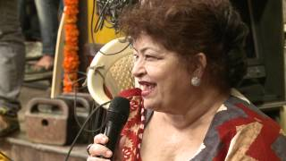Rowdy Rathore - Saroj ji on the sets