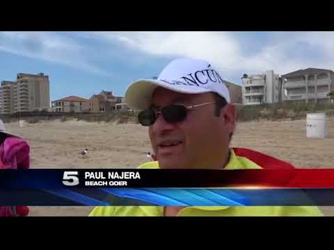 Tar Washing Ashore Causes Problems to Those Visiting SPI