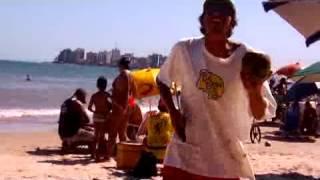 Goiaba vendedor de água de coco de Guarapari