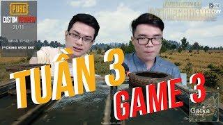 PEWPEW PUBG - CUSTOMGAME TUẦN 3 : TEAM OPTIMUS LÊN TIẾNG | GAME 3