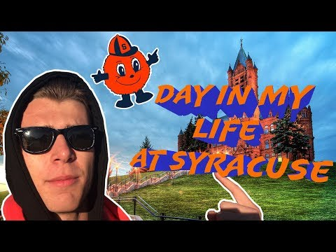 DAY IN MY LIFE AT SYRACUSE UNIVERSITY