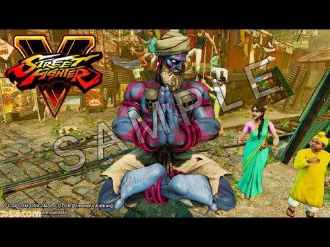 Street Fighter V / 5 - Original Character Colors Leaked ...