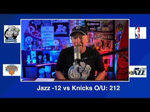 Utah Jazz vs New York Knicks 1/26/21 Free NBA Pick and Prediction NBA Betting Tips
