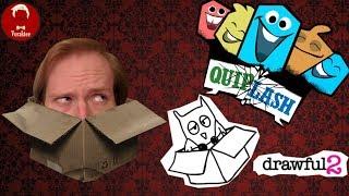 JACKBOX ATTACK! | Quiplash 2 | Drawful 2 | Jackbox Party live stream