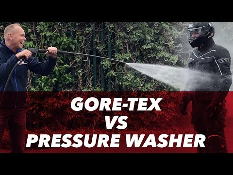 Rukka Jacket -  GORE TEX vs pressure washer - J&S Accessories Ltd