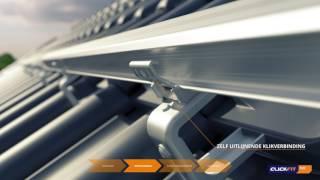 ClickFit EVO - Dé nieuwe montage standaard voor schuine daken