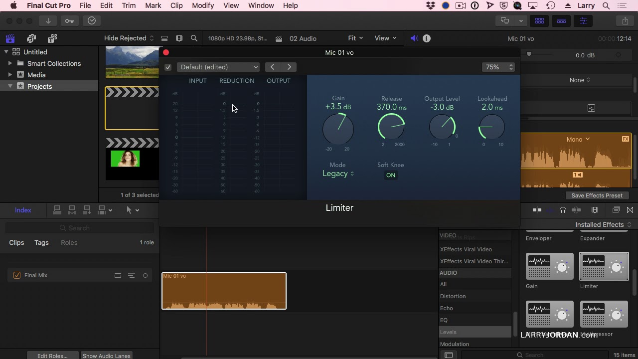 A Deep Dive Into the Hidden Audio Tools of FCP X
