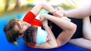 Girl Power Blindfolded Grappling Test - Core JKD