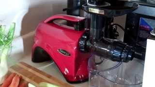 Omega NC800HDR Macy's Edition Masticating Slow Juicer Review Thumbnail