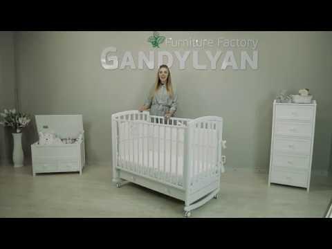 Обзор детской кроватки качалка-колесо Гандылян