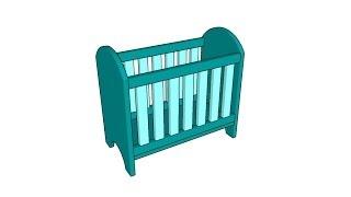 Doll Crib Plans