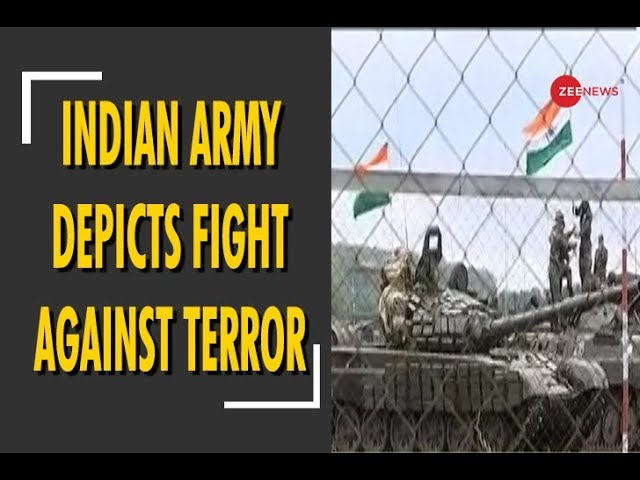 Indian Army depicts fight against terrorism at SCO joint military exercise in Russia