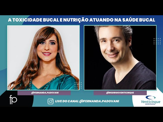 Live Dra. Fernanda Padovani e Dr. Rodrigo Venticinque