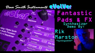 Dave Smith Instruments Evolver Fantastic Pads & FX Analog Digital Synthesizer DSI