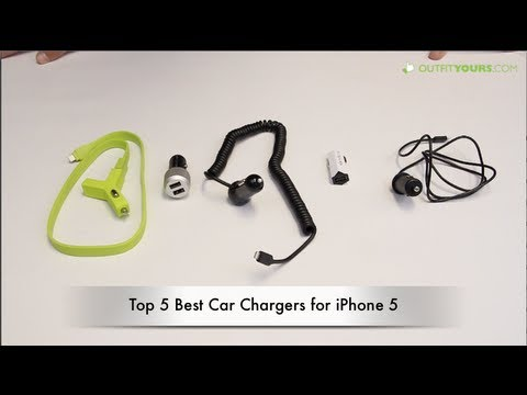 Top 5 Best Car Chargers for iPhone 5S & iPhone 5