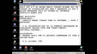 TUTORIAL FOLDER2ISO Y ALCOHOL 120% HAKER CLAN PARTE 1