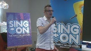 SingOn - Streaming Karaoke service in action