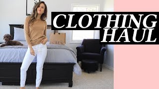 J. Crew Clothing Haul Basics and Staple Pieces