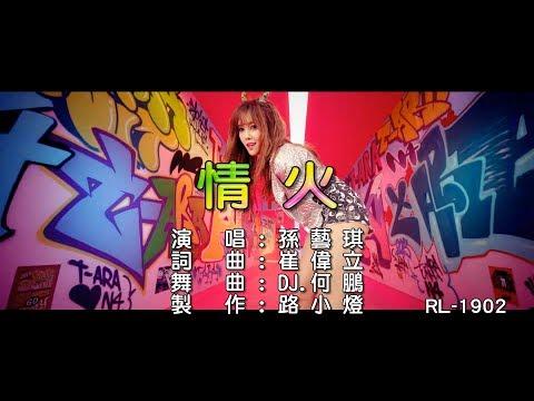 孫藝琪 | 情火 | (DJ版)  | (1080P)KTV