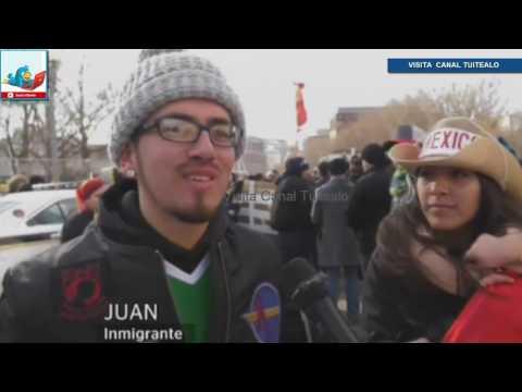 Así se vivo Un día sin inmigrantes en Estados Unidos por Donald Trump Video 2017