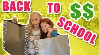 BACK TO SCHOOL SHOPPING HAUL! Exchange Student Arrival Day pt 1