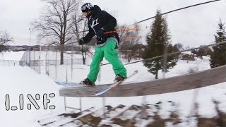 Partly Cloudy Opening Segment | FreeSki Session | Will Wesson