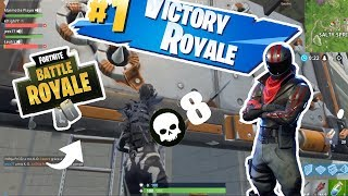 BIG BUG OF THE TRAP! FORTNITE BATTLE ROYALE TOP1
