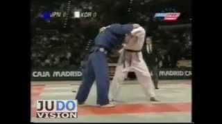 JUDO 1999 World Championships: Kosei Inoue 井上 康生 (JPN) – Sung-Ho Jang (KOR)