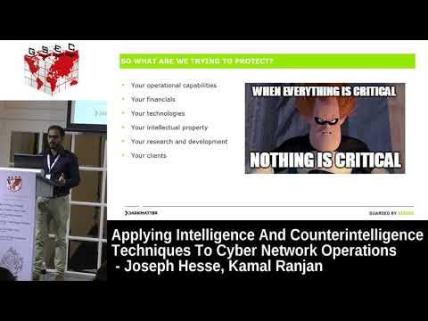 #HITBGSEC 2017 CommSec D2 - Intelligence And Counterintelligence Techniques - J. Hesse & K. Ranjan