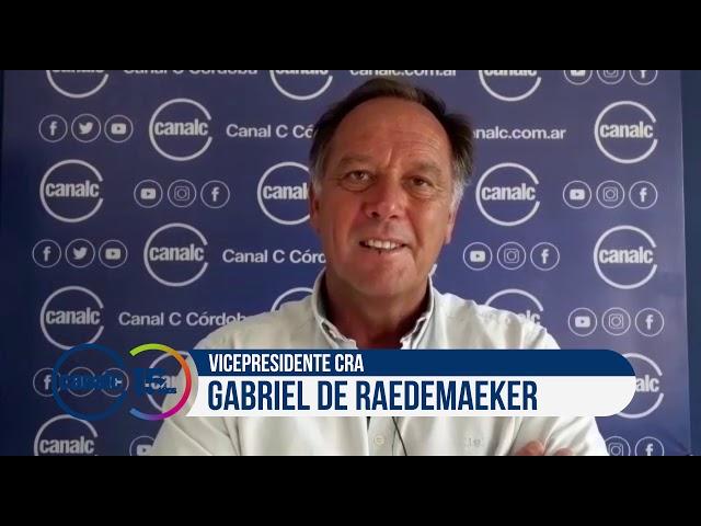Canal C 15 años: Gabriel de Raedemaeker, vicepresidente CRA