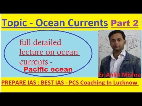 Ocean Currents Part II: North Pacific ocean currents