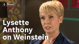 Lysette Anthony alleges she was raped on two occasions by the Hollywood producer Harvey Weinstein