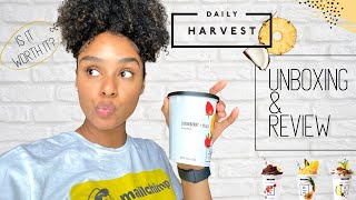 *non-sponsored* Daily Harvest Unboxing & Review 🍍| Lifestyle | UnBRElievable