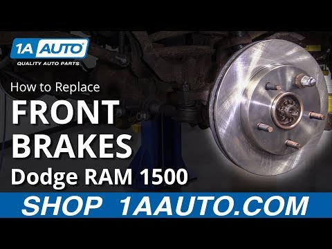 How to Replace Front Brakes 94-02 Dodge RAM 1500